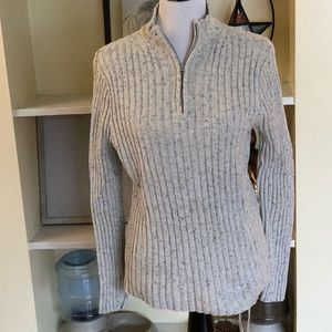 *406 Croft & Barrow Mockneck Sweater